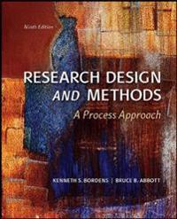 Research Design and Methods: A Process Approach (Int'l Ed)