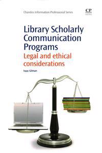 Library Scholarly Communication Programs