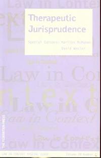 Therapeutic Jurisprudence