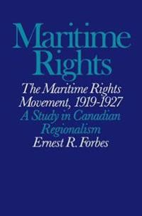 The 'maritime Rights Movement, 1919-1927