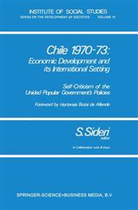 Chile 1970-73: Economic Development and its International Setting