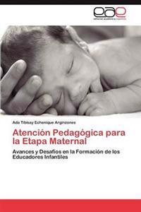 Atencion Pedagogica Para La Etapa Maternal