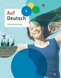 Auf Deutsch 1 - Anne Britt Heimdal, Geir Nordal-Pedersen | Inprintwriters.org