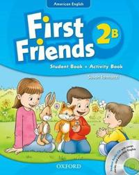 First Friends (American English): 2: Student Book/Workbook B and Audio CD Pack
