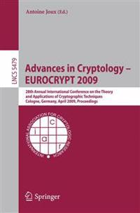 Advances in Cryptology - EUROCRYPT 2009