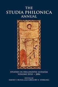 The Studia Philonica Annual