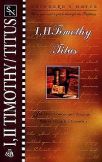I, II Timothy/Titus