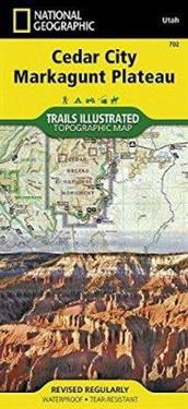 National Geographic Trails Illustrated Map Cedar Mountain / Pine Valley Mountain