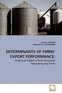 Determinants of Firms' Export Performance