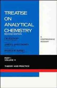 Treatise on Analytical Chemistry, Part 1 Volume 11