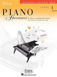 Piano Adventures, Level 4: Technique & Artistry Book