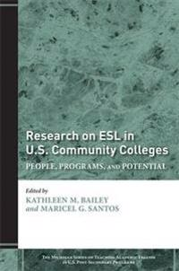 Research on ESL in U.S. Community Colleges