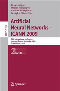 Artificial Neural Networks - ICANN 2009