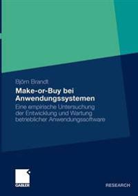 Make-or-Buy Bei anwendungssystemen