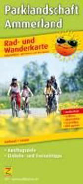 Rad- und Wanderkarte Ammerland / Bad Zwischenahn 1 : 50 000
