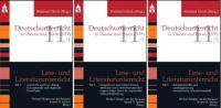 Lese- und Literaturunterricht. 3 Bände