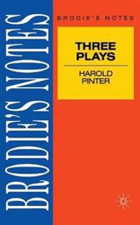 Pinter: Three Plays