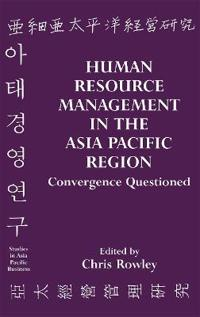 Human Resource Management in the Asia Pacific Region
