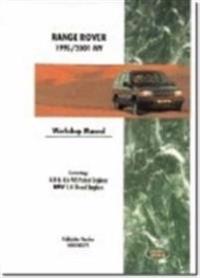 Range Rover 1995-2001 Model Years Workshop Manual