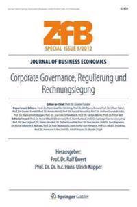 Corporate Governance, Regulierung Und Rechnungslegung