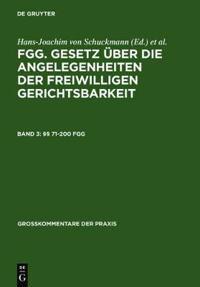 §§ 71-200 Fgg
