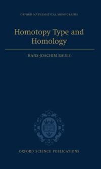Homotopy Type and Homology