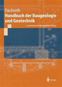 Handbuch Der Baugeologie Und Geotechnik
