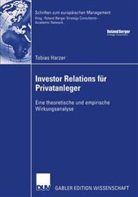 Investor Relations Für Privatanleger