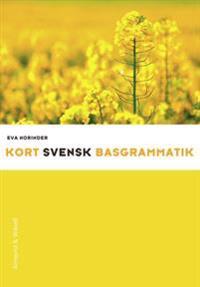 Kort svensk basgrammatik