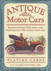 Antique Motor Cars Card Game