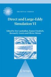 Direct and Large-Eddy Simulation VI: Proceedings of the Sixth International ERCOFTAC Workshop on Direct and Large-Eddy Simulation, Held at the Univers
