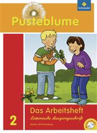 Pusteblume. Das Sprachbuch 2. Arbeitsheft mit CD-ROM. Baden-Württemberg