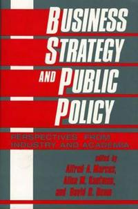 Business Strategy and Public Policy