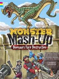 Monster Mash-up - Dinosaurs Face Destruction Coloring Book