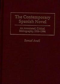 The Contemporary Spanish Novel