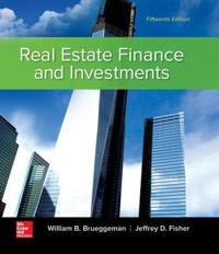 Real Estate Finance and Investments