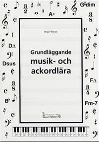 Grundläggande musik- och ackordlära