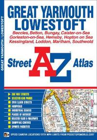 A-Z GREAT YARMOUTH STREET ATLAS