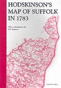 Hodskinson's Map of Suffolk, 1783