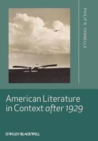 American Literature Context 1929
