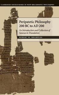 Peripatetic Philosophy, 200 BC to AD 200