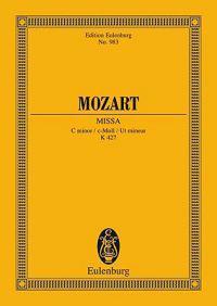 Mozart: Missa, C Minor/C-Moll/UT Mineur, K 427: For 4 Solo Voices, Chorus and Orchestra/Fur 4 Solostimmen, Chor Und Orchester