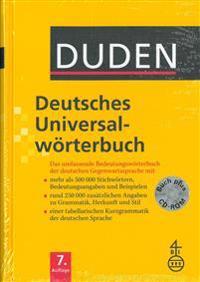Duden - Deutsches Universalwörterbuch - Buch plus CD