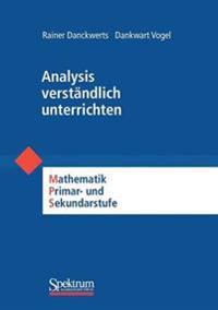 Analysis Verstandlich Unterrichten