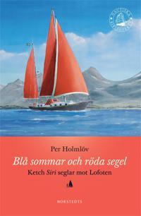 Blå sommar och röda segel