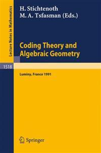 Coding Theory and Algebraic Geometry