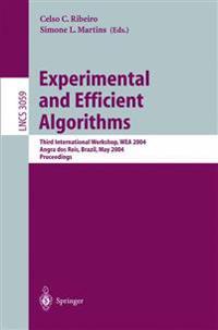 Experimental and Efficient Algorithms