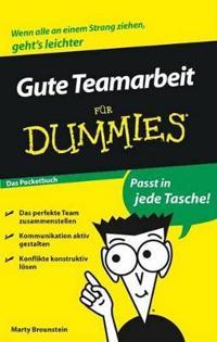 Gute Teamarbeit Fur Dummies Das Pocketbuch