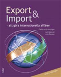 Export och import Fakta och Övningar