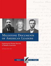 Milestone Documents of American Leaders-Volume 2
